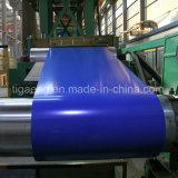 Broodje van het Staal van de Fabriek van China het Dx51d Met een laag bedekte/de Vooraf geverfte Rol van het Staal Galvanzied