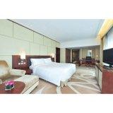 簡単な商業カシ木ベニヤのホテルの寝室デザイン