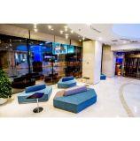 木の現代Colorfull大型デザイナー寝室の家具セット