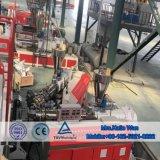 Nouveau design WPC Flooring Ligne d'extrusion extrusion plastique Machine WPC