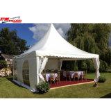 Familien-Partei-im Freiengartengazebo-Zelt für im Freienhochzeits-Lebesmittelanschaffung