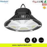 Design de acantonamento 160lm/W 200W depósito de LED UFO High Bay com Ugr<19