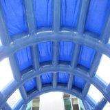 Claro Transparente Arco de la Carpa inflable arrojar túnel hinchable