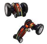 4003 RC Stunt Color Robot Flexible de luz de flash controlado por Radio Control Remoto juguetes escalada en coche de alquiler de off road juguete eléctrico