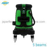 Feu vert de mise à niveau automatique de ligne de niveau laser pour l'extérieur