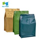 Custom печать Zipper Bag джутовых мешков кофе