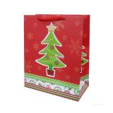 주문 Kraft 종이 쇼핑 크리스마스 선물 부대 (YH-PGB032)