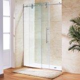 Customized Design de caixa de chuveiro em vidro transparente