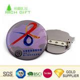 Freie Beispielkundenspezifisches Metallmessingnickel, das weiche Decklack-Kleidungs-Abzeichen für Verkauf beschichtet