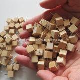 新型の正方形の立方体様式木製のヘッド押しピン