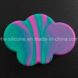 Forma de nube más grande 85ml Food Grade caucho de silicona personalizadas Recipiente de aceite de cera