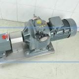 ステンレス鋼の衛生回転式丸い突出部ポンプ込み合い配達回転子ポンプ