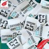 Acessórios de vestuário da China melhor qualidade de algodão a etiqueta de tecido têxtil de poliéster