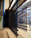 Veiligheid Drie de Tubulaire Omheining van het Aluminium van Sporen