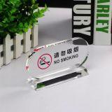 Модные Wholesales не курить акриловый таблице знак