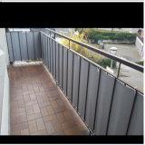 Загородка скрининга балкона PVC хорошего качества для балкона
