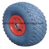 Roda de borracha pneumática durável extensível de 10 polegadas