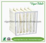 Sacchetto Pocket sintetico di filtro dell'aria industriale con F5