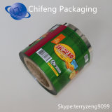 Пленка крена упаковки еды изготовления на заказ Biodegradable напечатанная пластмассой