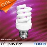Lampes spiralées approuvées d'économie d'énergie du T2 9W 11W 15W E27 de RoHS de la CE pleines