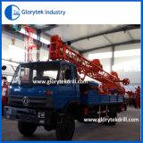 300m de profundidad de perforación rotativa montados sobre camiones Equipos de Perforación de Pozo de agua
