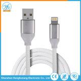 5V/2.1A 1m de cabo de dados USB do telefone da luz de carga