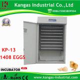Retenant l'incubateur complètement automatique d'oeufs de canard de 1000 oeufs (KP-13)