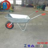 亜鉛上塗を施してある一輪車(WB 5206)