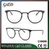 Nuevo producto de moda el espectáculo del bastidor de acero inoxidable óptica anteojos anteojos