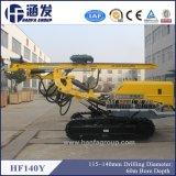 Hf140y гусеничный тип многофункциональных DTH буровых установок