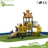De OpenluchtSpeelplaats van de Kinderen van de kleuterschool voor Park/Kleuterschool
