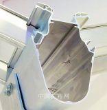 Perfis de alumínio da extrusão para a placa e o vidro de PC