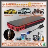 24000mAh Aanzet van de Sprong van de Auto van het lithium de Draagbare Mini voor 12V LEIDENE van de Output van het Pak USB van de Batterij van het Begin van de Auto Laptop van het Flitslicht Lader