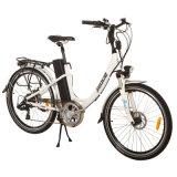 LCD 디스플레이 Jb-Tdf02z를 가진 여자 또는 신사 도시 자전거 전기 26 인치