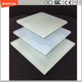 3-19mm UV 저항하는 실크스크린 인쇄 또는 산성 식각 또는 서리로 덥는 또는 패턴 평지 구부리는 SGCC/Ce를 가진 LED 빛, 옥외 가구 및 훈장을%s 부드럽게 했거나 단단하게 한 유리