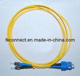 9/125 Sm Dúplex Sc-St de fibra óptica Cable de conexión
