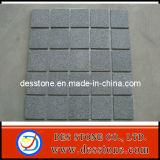 Más barato de color gris oscuro de la malla de granito G654 de la pavimentadora de (des-PV012)