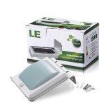 Carcasa de aluminio 16 Sensor de movimiento PIR LED Lámpara de Pared Solar para puertas o corredor de iluminación de noche
