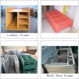 De tubulaire Steiger van het Frame van het Staal, de Steiger van het Frame van de Ladder, het Frame van de Steiger H