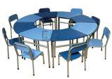 Gt-54-Marco de madera y metal Kids Big Mesa redonda y sillas