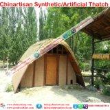 Het met stro bedekken voor DIY bouwt Uw Eigen Hutten Tiki en Staven Tiki