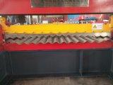 Strato ondulato di alluminio del tetto del motore idraulico che fa macchina