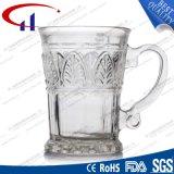 280ml gravierte Entwurfs-Feuerstein-Glas-Kaffeetasse (CHM8170)
