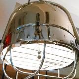 Dispositivi Pendant d'acciaio registrabili inossidabili di stile industriale moderno che appendono indicatore luminoso per la cucina