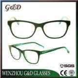 Novo Estilo de acetato de grossista isopropanol óculos vidros ópticos Frame