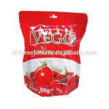 Bolsita orgánica 56g Pasta de tomate con alta calidad