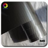 O envoltório do vinil da decoração do carro da fibra do carbono de Tsautop 5D com ar livra bolhas