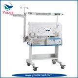 Incubadora infantil radiante do hospital para o bebê recém-nascido