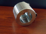 Schraubnippel des Edelstahl-Rohrfitting-316L maschinell bearbeitet nach innen vom Rohr