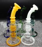 Conduite d'eau de fumage en verre avec 12inch, couleurs de mélange